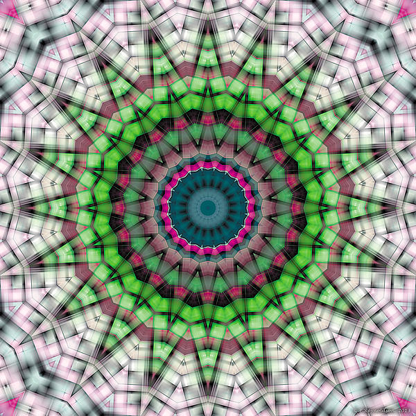 Mandala 26 Print by Terry Reynoldson