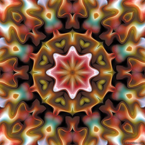 Mandala 92 Print by Terry Reynoldson