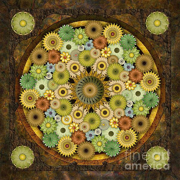 Bedros Awak - Mandala Stone Flowers
