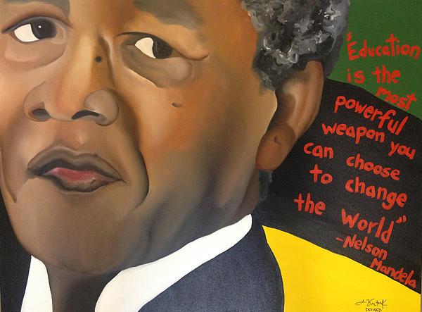Mandela Print by Chelsea VanHook