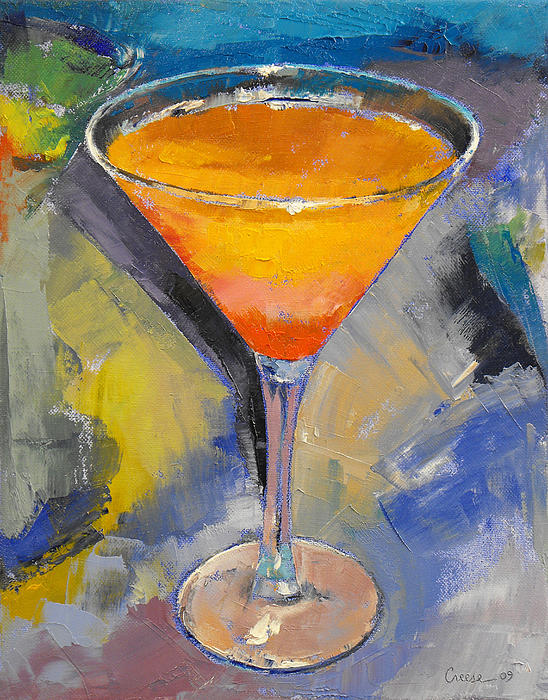Mango Martini Print by Michael Creese