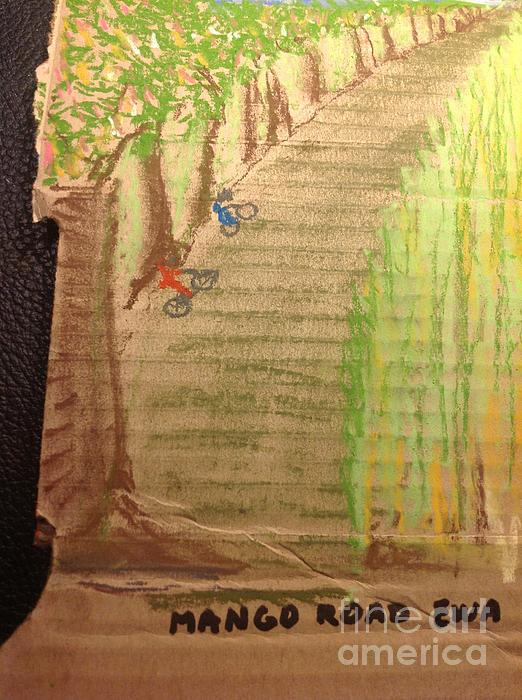 Mango Road Ewa Plantation Print by Willard Hashimoto