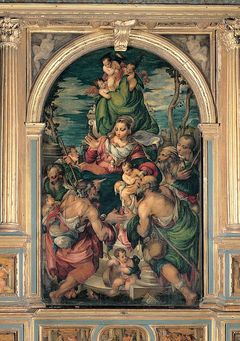 Marascalchi Pietro, Our Lady Of Mercy Print by Everett