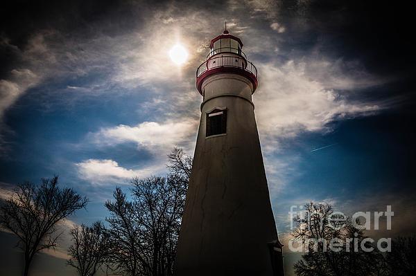 Marblehead Lighthouse Print by Lori England Zornes
