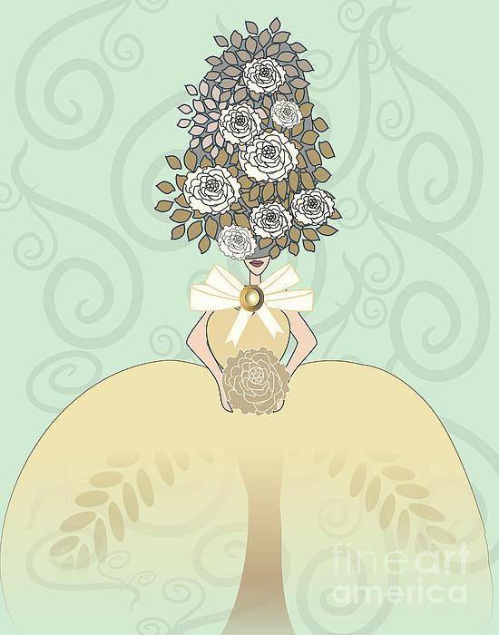 Marie Antoinette Vi Print by Mira Dimitrijevic