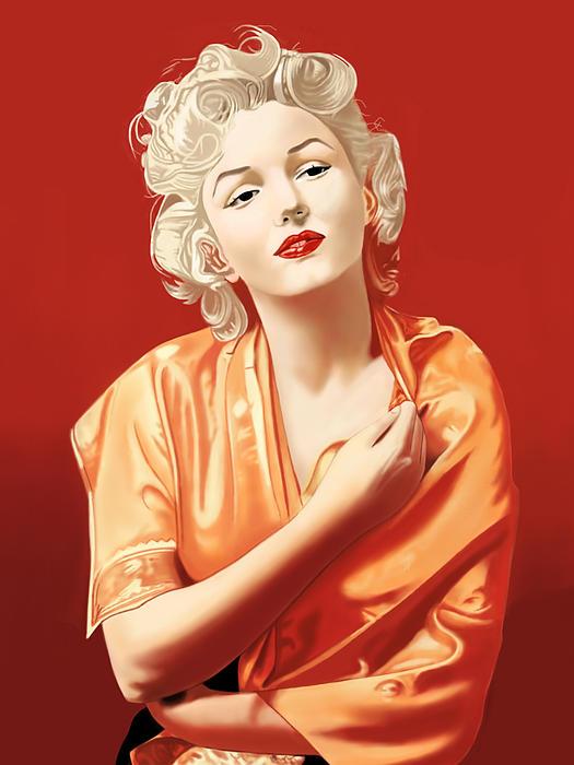 Marilyn Monroe Print by Andrew Harrison