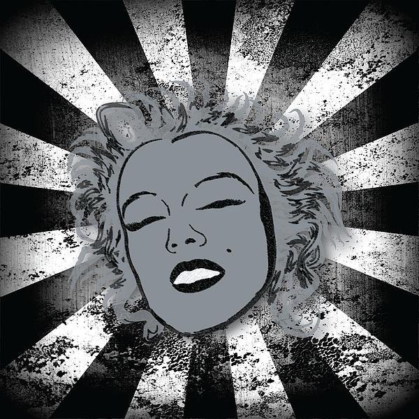 Marilyn Print by Sara Ponte