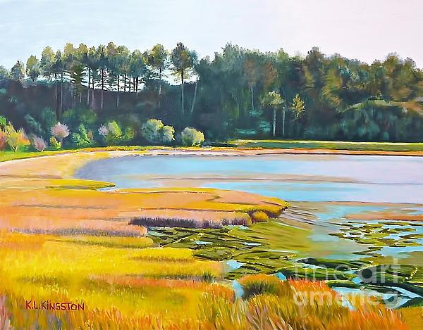 K L Kingston - Marin County marsh
