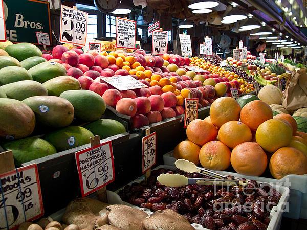 Market Fresh Print by Arlene Carmel