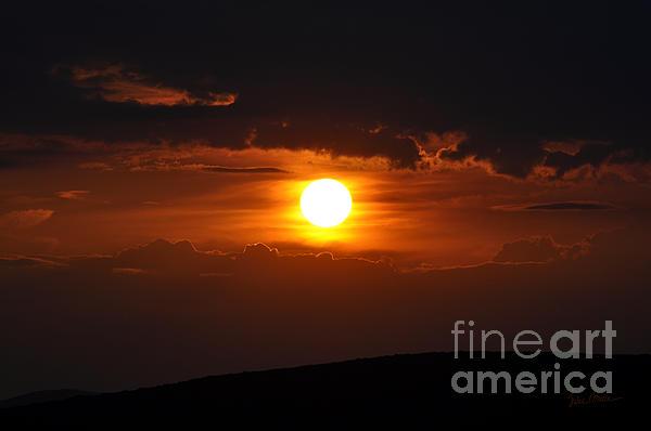 Luke Moore - Martian Sunset