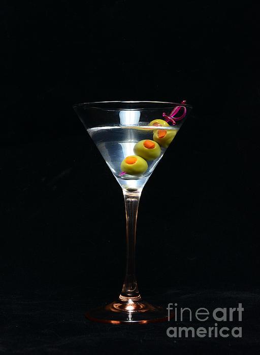 Martini Print by Paul Ward