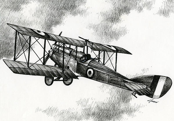 Martinsyde G 100 Print by James Williamson
