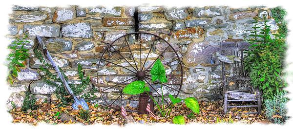 Michael Mazaika - Maryland County Roads - Weathered Memories - Thurmont Frederick County