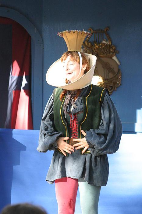 Maryland Renaissance Festival - A Fool Named O - 121211 Print by DC Photographer