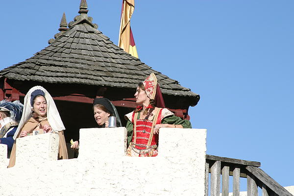 Maryland Renaissance Festival - Open Ceremony - 12123 Print by DC Photographer