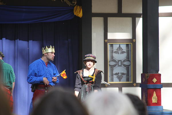 Maryland Renaissance Festival - People - 121251 Print by DC Photographer