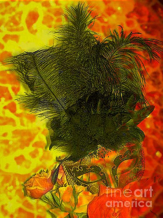 Mask Print by Kelly McManus