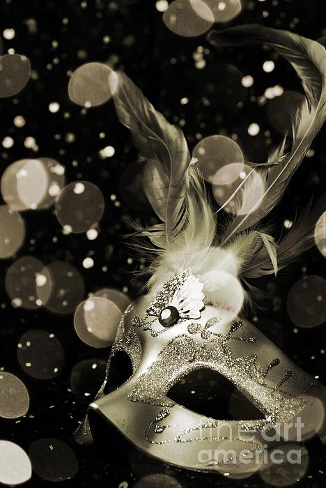 Masquerade Print by Jelena Jovanovic