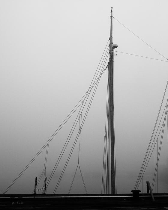 Mast And Rigging Print by Bob Orsillo