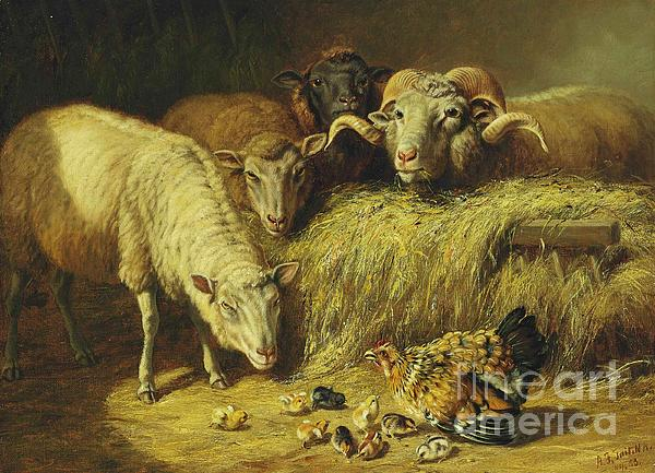 Maternal Solicitude Print by Pg Reproductions