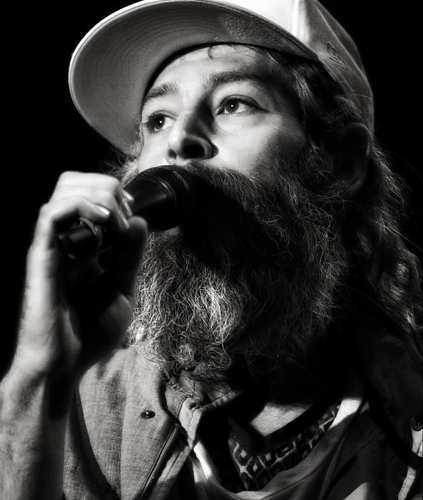 Matisyahu Live In Concert 3 Print by The  Vault - Jennifer Rondinelli Reilly