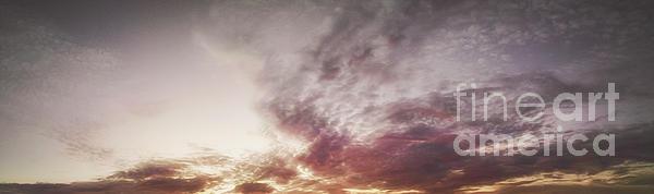 Mauve Skies Print by Holly Martin