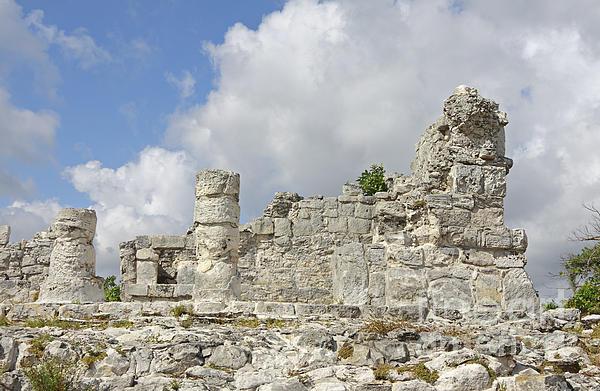 Mayan Ruins Print by Charline Xia