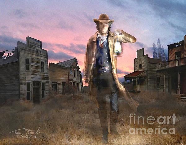 Mayhew Texas  Print by Tom Straub
