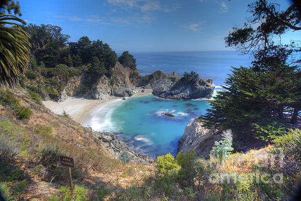 Mcway Falls Print by Marco Crupi