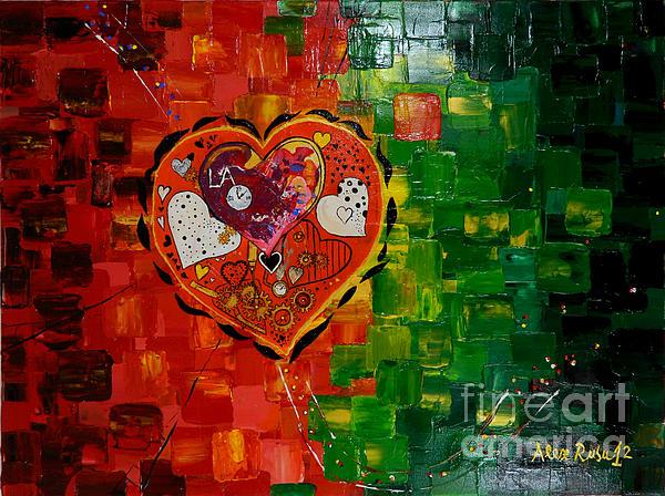 Mechanism Of Love Print by Alexandru Rusu