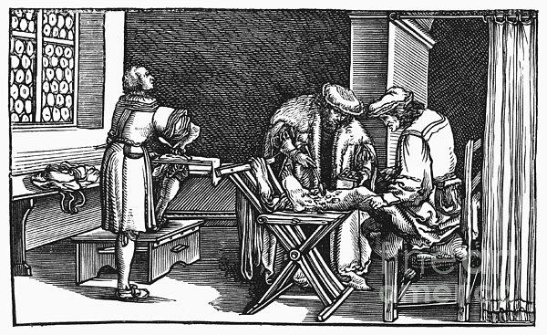 Medicine: Surgery, 1537 Print by Granger