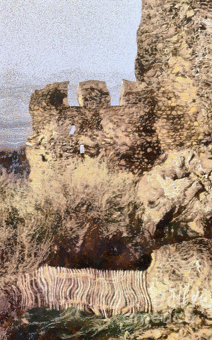 Medieval Castle Of Holloko Hungary Print by Odon Czintos