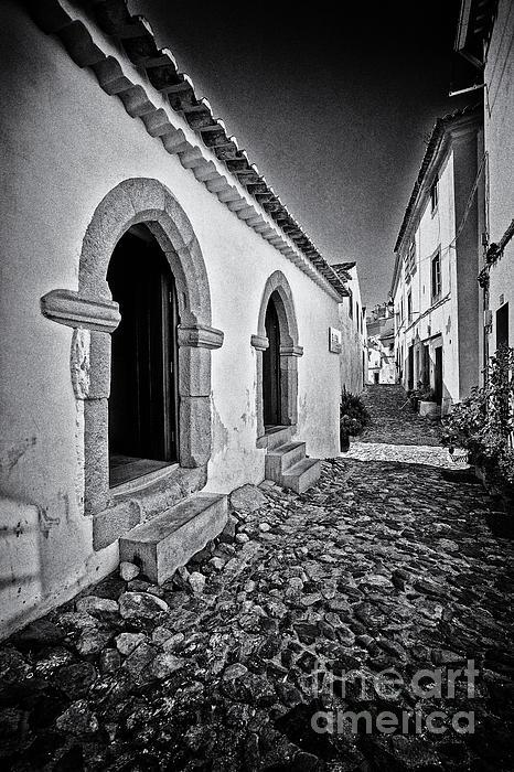 Medieval Sephardi Synagogue Print by Jose Elias - Sofia Pereira