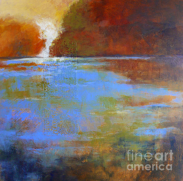 Meditation Place No. 3 Print by Melody Cleary