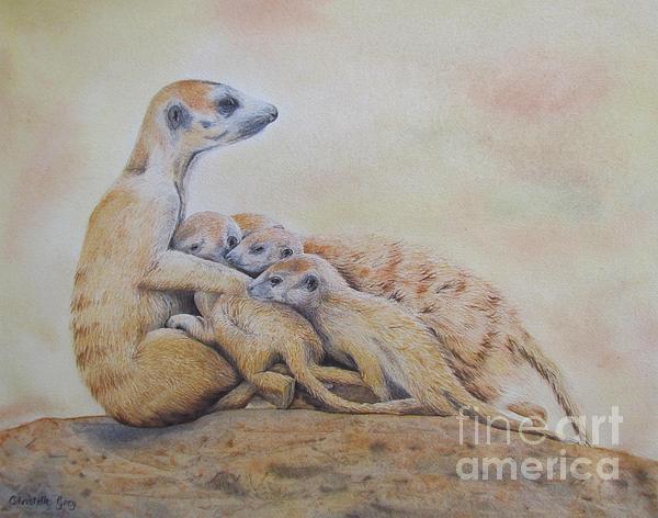 Christelle Grey - Meerkat Mommy
