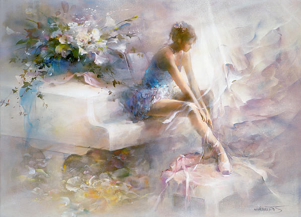 Melodies Print by Willem Haenraets