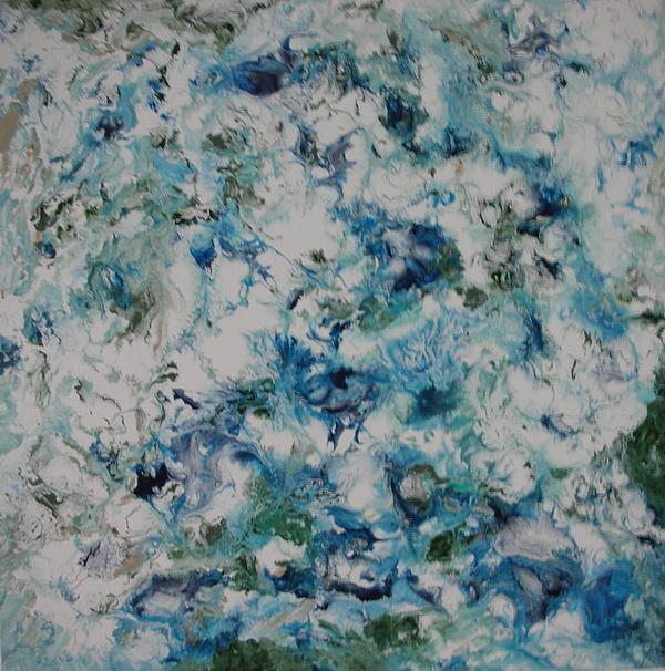 Melting Ice 2 Print by Bruce Brand