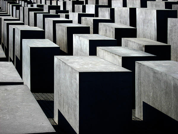Memorial To The Murdered Jews Of Europe Print by RicardMN Photography