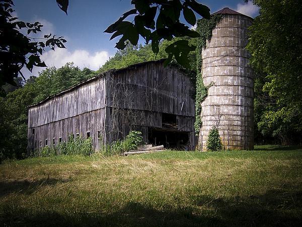 Memories Of Peak's Mill Print by Wayne Stacy