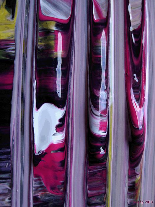 memories of the white spirit Acryl Print by Sir Josef Putsche