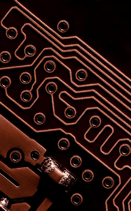 Memory Chip Print by Bob Orsillo
