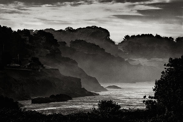 Mendocino Coastline Print by Robert Woodward