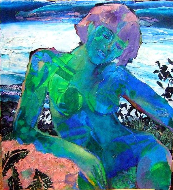 Mermaid Print by Diane Fine