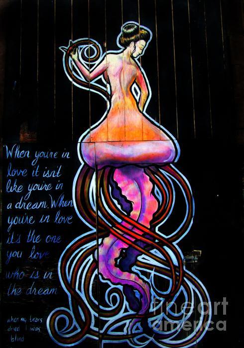 Mermaid Dream Print by Colleen Kammerer
