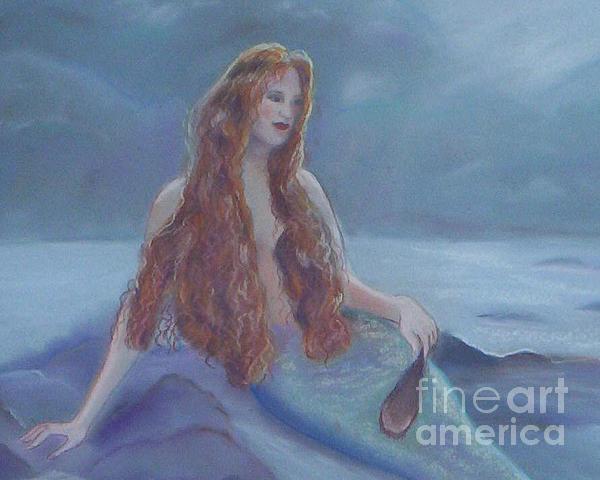Julie Brugh Riffey - Mermaid in Moonlight
