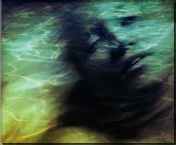 Mermaid Longing Print by Gun Legler