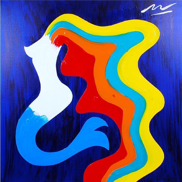 Mermaid Print by Mac Worthington
