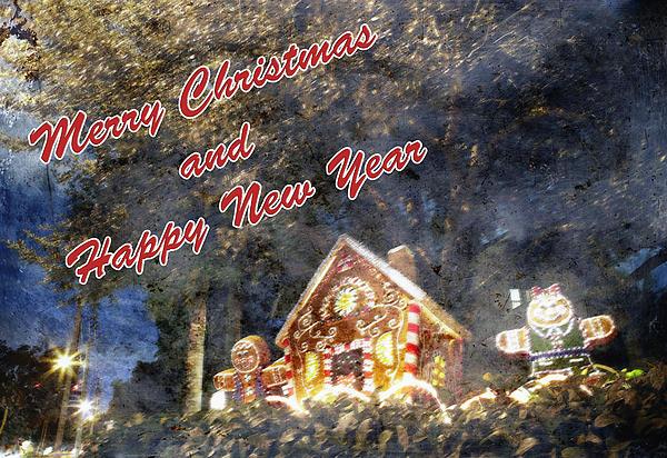 Merry Christmas Print by Skip Nall
