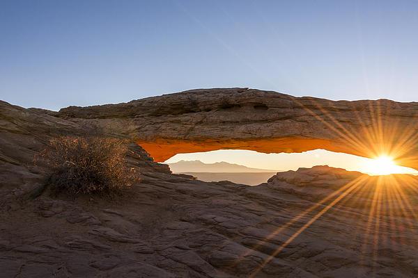 Mesa Arch Sunrise 7 - Canyonlands National Park - Moab Utah Print by Brian Harig