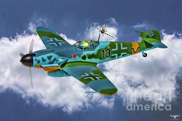 Tommy Anderson - Messerschmitt Me109